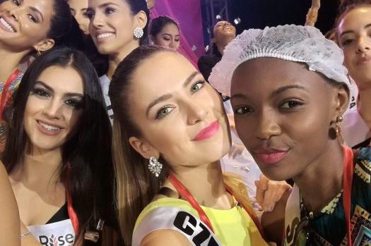 Finalistky Miss Universe kolabují!