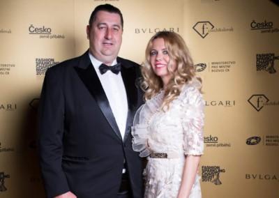 Jana Štefánková s manželom