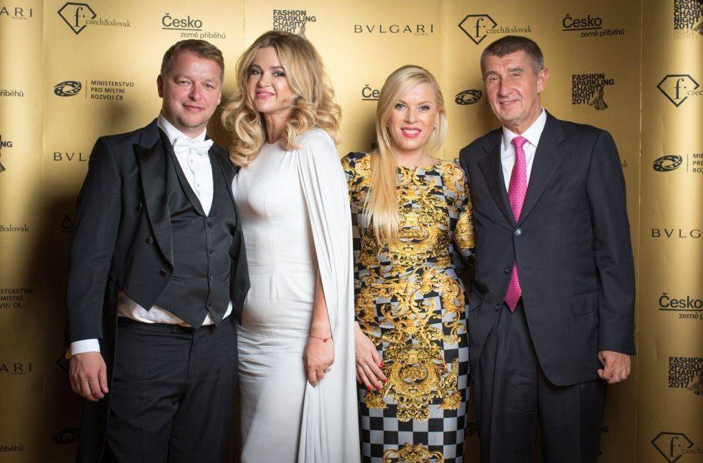 Ambasádorkou projektu Fashion Sparkling Charity Night 2017 sa stala  Dominika Navara Cibulková!