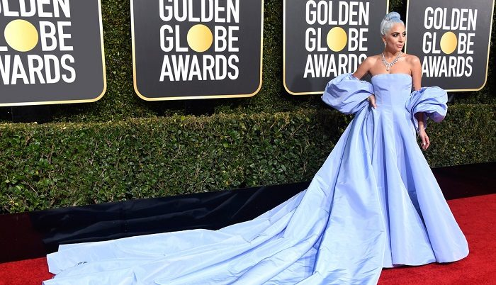 LADY GAGA ZÁŘILA NA GOLDEN GLOBES V TIFFANYHO DIAMANTECH