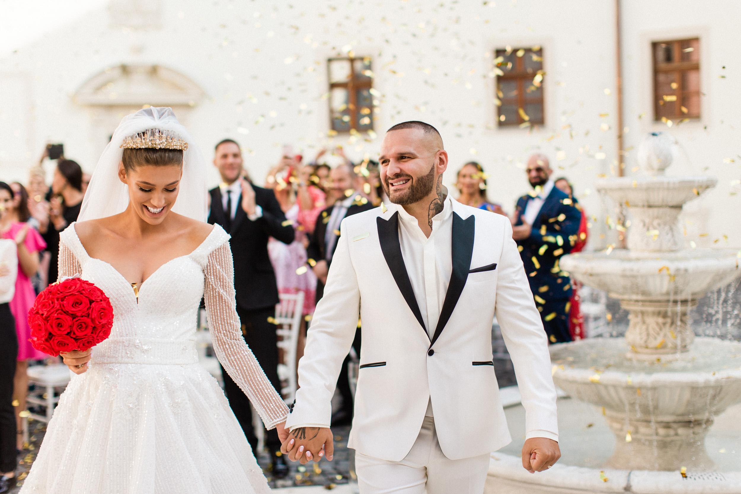 a82b6d02f01c Rozprávková svadba vo fashion štýle Jasminy a Rytmusa na zámku. Nové  informácie