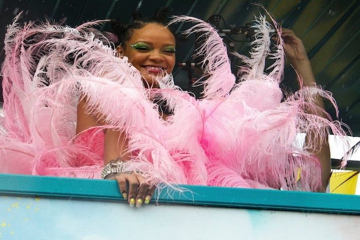 Festivalová kráska Rihanna